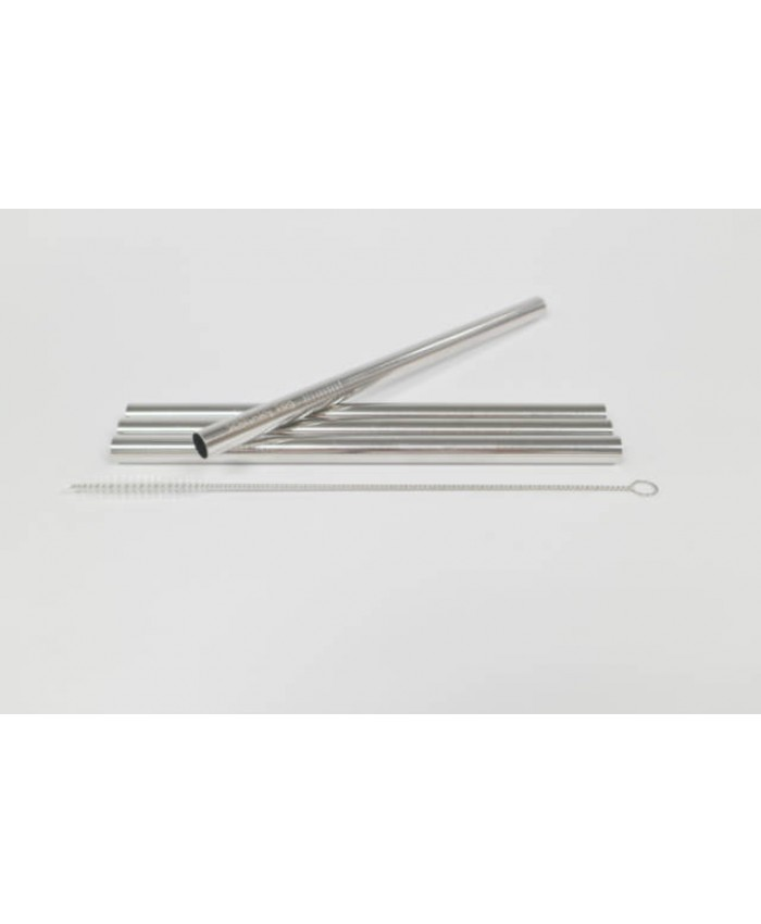 Schtinky Dog Metal Straws - Bubble